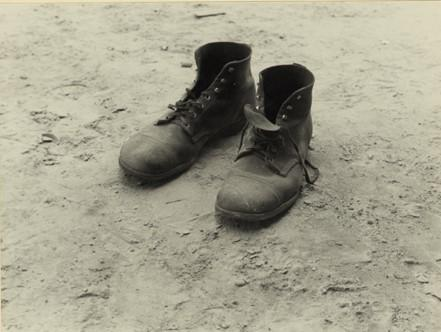 Walker Evans work shoes
