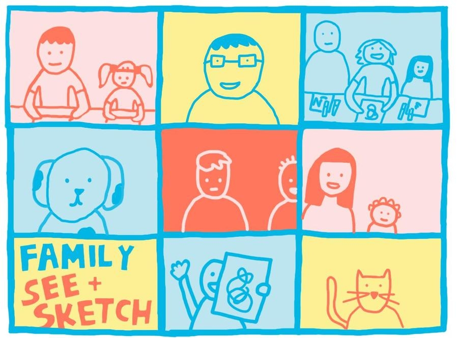 Family See and Sketch